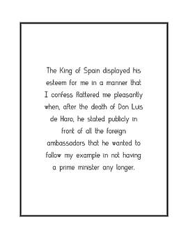 The King of Spain displayed... by Famous Quotes