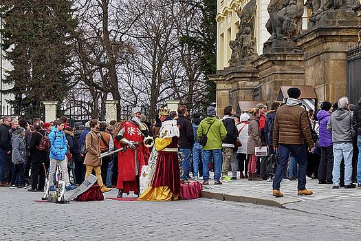 The Kings of the Democracy. Prague Castle. Prague spring 2017 by Jouko Lehto
