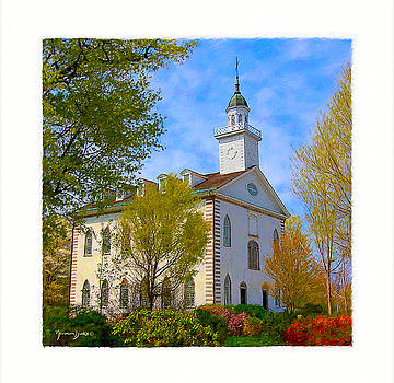 The Kirtland Temple by Norman Drake
