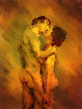 The Kiss by Kurt Van Wagner
