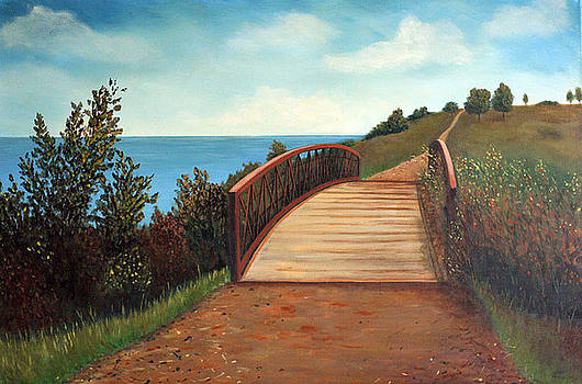 The Kissing Bridge by Sharon Steinhaus