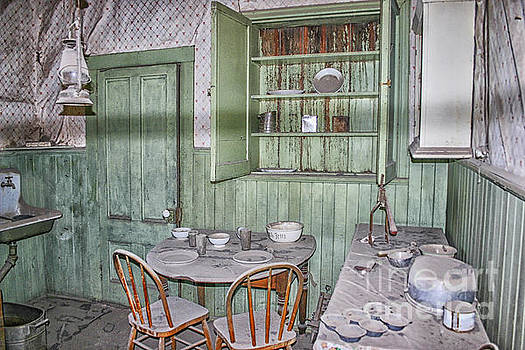 Patricia Hofmeester - The kitchen in the Miller House in the ghost town of Bodie, Cali