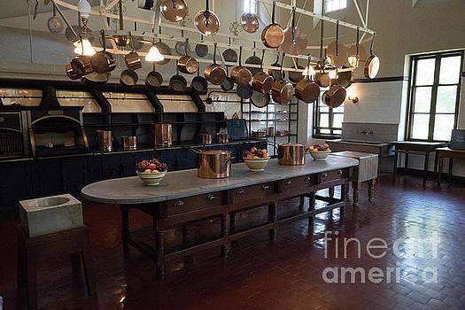 The Kitchen The Breakers Vanderbilt Mansion Newport Rhode Island by Wayne Moran