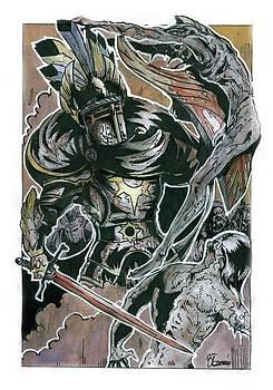 The Knight by Bartek Blaszczec