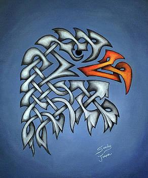 The Knotty Eagle #2 by Sandy Jasper