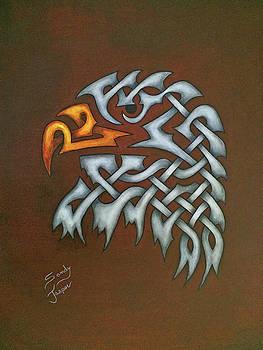 The Knotty Eagle by Sandy Jasper