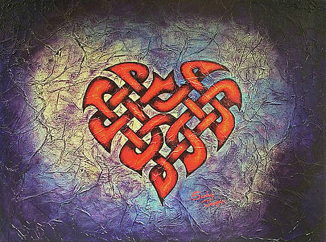 The Knotty Heart #1 by Sandy Jasper