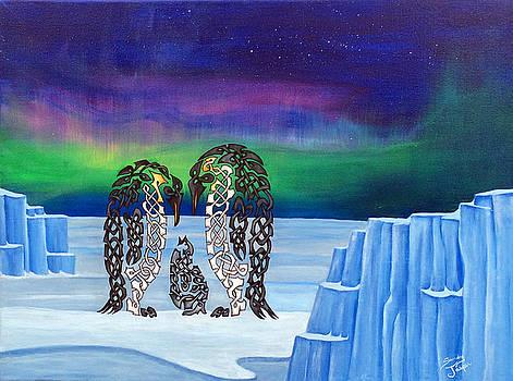 The Knotty Penguins by Sandy Jasper