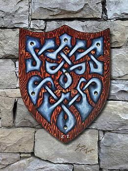 The Knotty Shield by Sandy Jasper