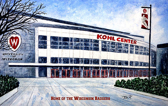 The Kohl Center by Thomas Kuchenbecker