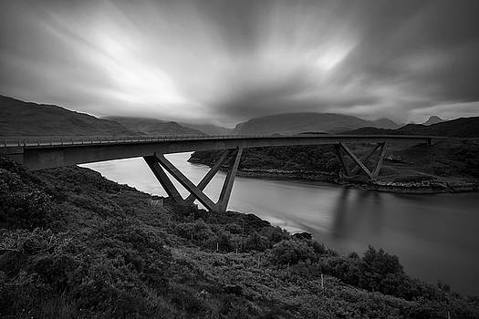 The Kylesku Bridge by Derek Beattie