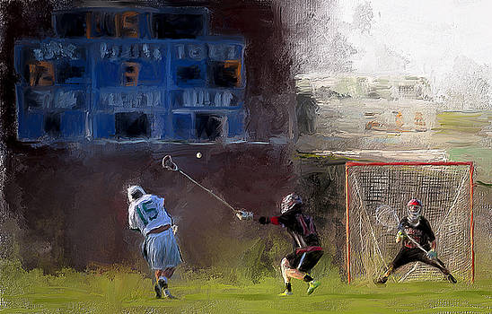 The Lacrosse Shot by Scott Melby