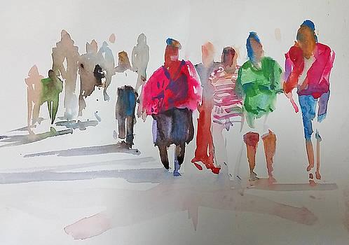 The Ladies by P Anthony Visco