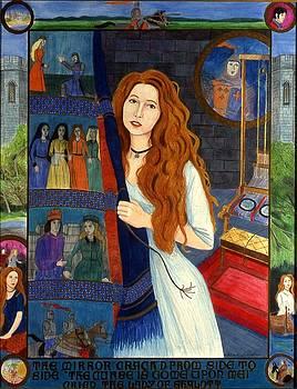 The Lady of Shalott by Patrick Lynch