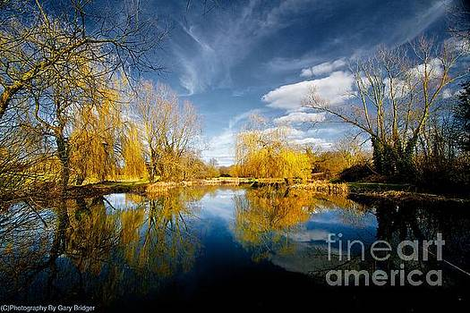 The lake by Gary Bridger