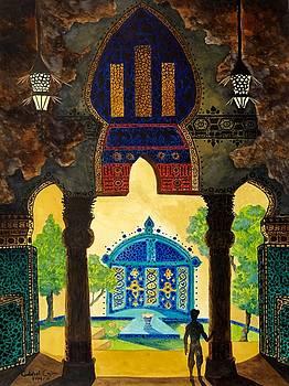 The Lamp's Garden by Gabriel Cajina