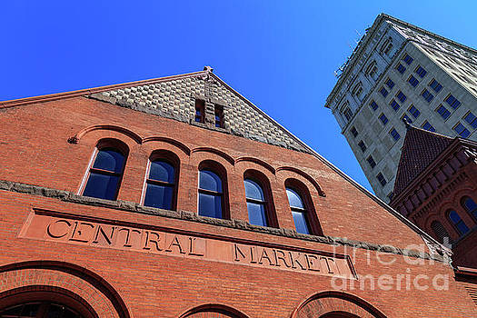 The Lancaster PA Brick Central Market Building by George Sheldon