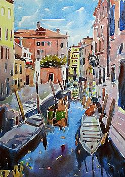The Landing, Venice by Owen Hunt