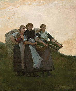 The Lark by Winslow Homer