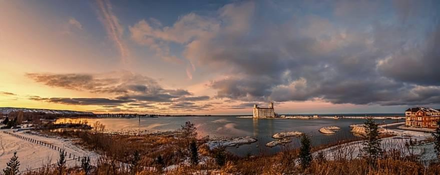 Jeff S PhotoArt - The last ice on the bay