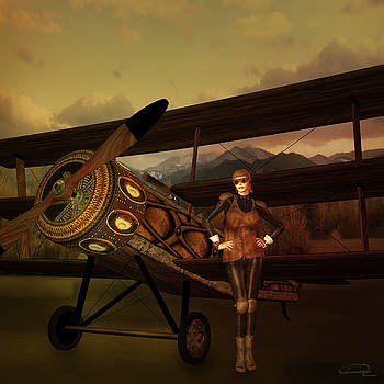 The Last Steampunk Flight by Emma Alvarez