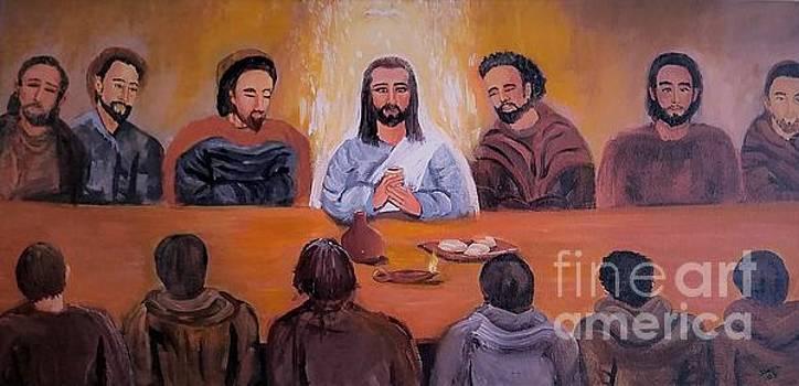 The Last Supper by Deyanira Harris