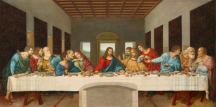 The Last Supper by Giovanni Rapiti