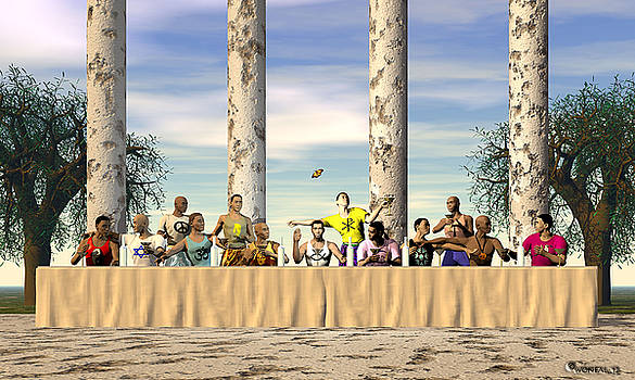 Walter Oliver Neal - The Last Supper