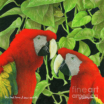 Will Bullas - the last time I saw parrots...