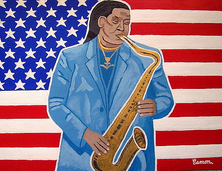 The Late Great Clarence Clemons by Eamon Reilly
