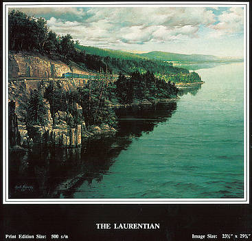 The Laurentian by Gyula Madarasz