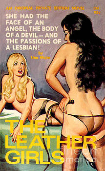 The Leather Girls by Unknown Artist