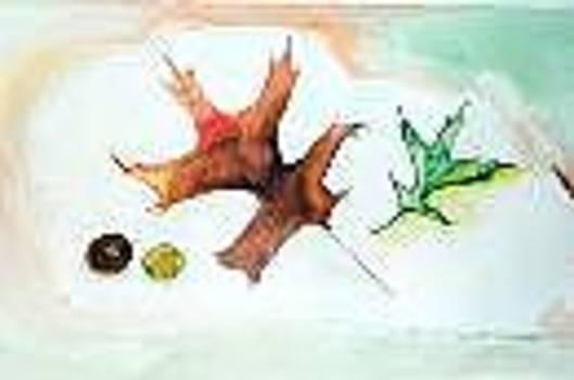 The Leaves of Fall by Elizabeth A Gawronski