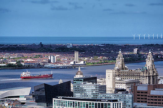 Sailing down the River Mersey by Craig Bascombe