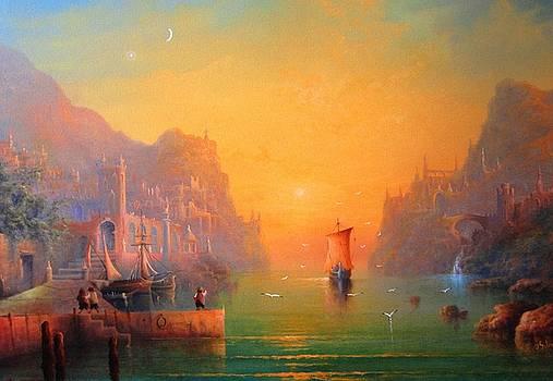 The Leaving by Ray Gilronan