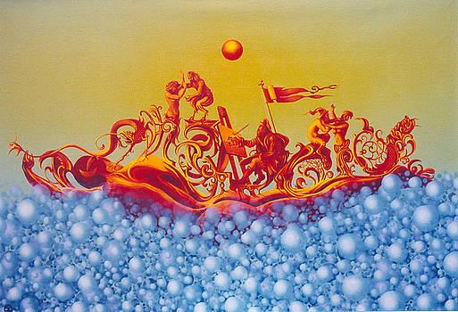 tHE LEGENDARY BOHEMIAN SUN. by Tautvydas Davainis