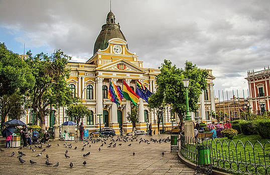 Venetia Featherstone-Witty - The Legislative Palace, Plaza Murillo, La Paz, Bolivia