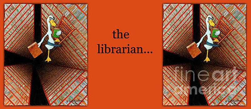 Will Bullas - the librarian...