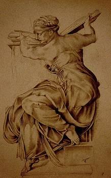 The Libyan Sibyl by A Hwais