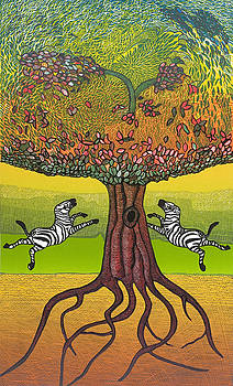 The life-giving tree. by Jarle Rosseland