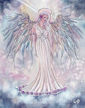 The light above you angel by Renee Lavoie