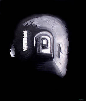 The light at the end of the tunnel by Kenneth-Edward Swinscoe