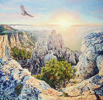 The Light Of Hope by Irina Sumanenkova