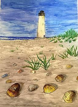 The Lighthouse by Ebtehaj F