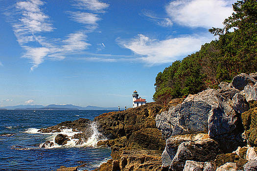 The Lighthouse by Rick Lawler