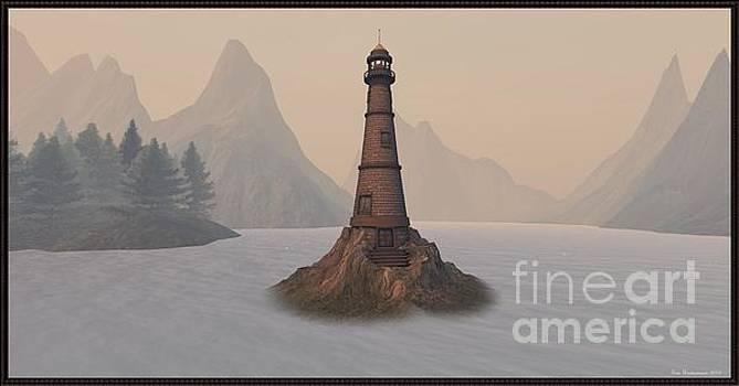 The lighthouse by Susanne Baumann