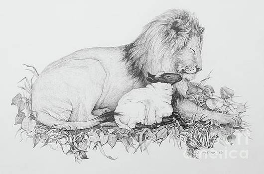 The Lion and the Lamb by Jill Iversen