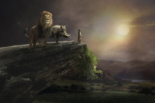 The Lion King by Cindy Grundsten