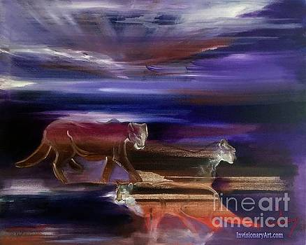 The Lions by Al Vesey