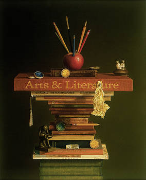 The Literary Artist by Barbara Groff